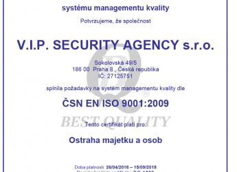 Obhájili jsme ISO